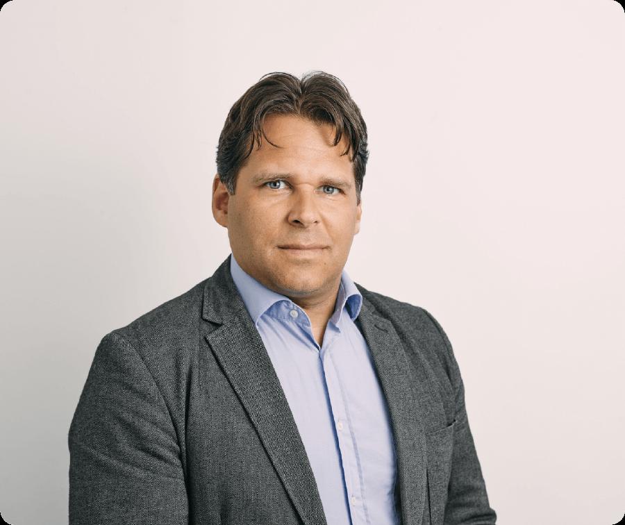 Photo von sandro lassmann dem CFO von Netavis